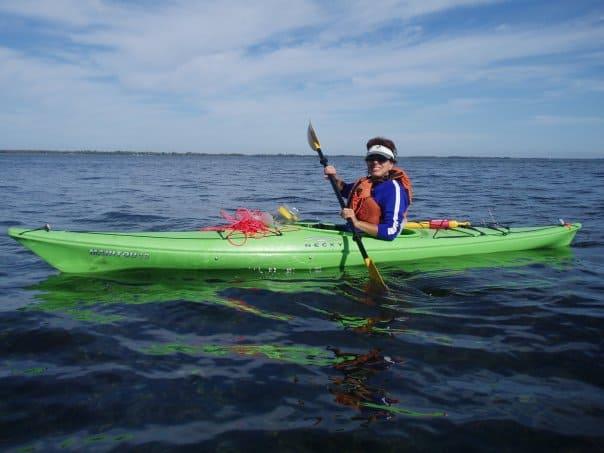 Kayaking at Erieau