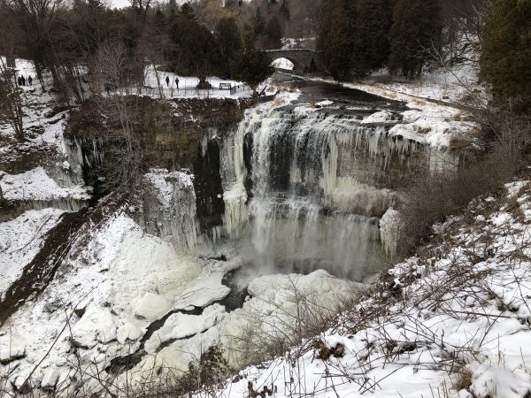 Webster Falls in Winter