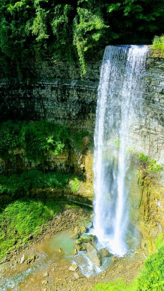 Tew Falls in Spring