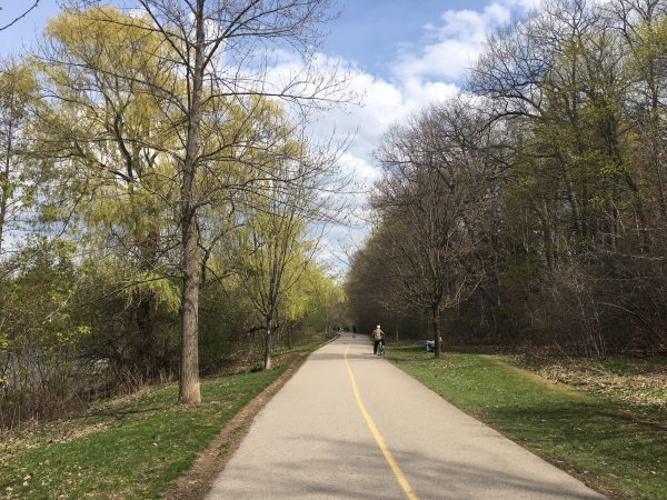 Thames Valley Parkway at Springbank Park