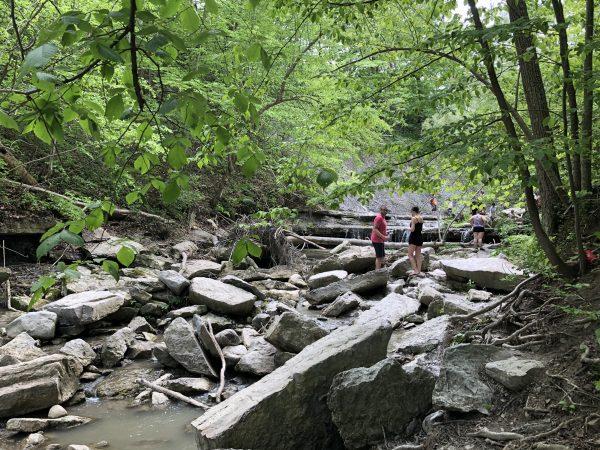 Rock Glen Falls Drain