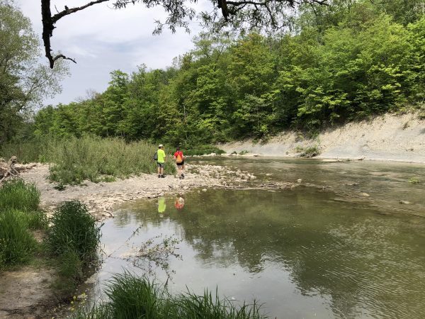 Fishing at Rock Glen Conservation Area