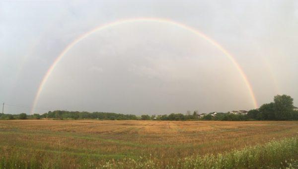 Rainbow near Port Stanley