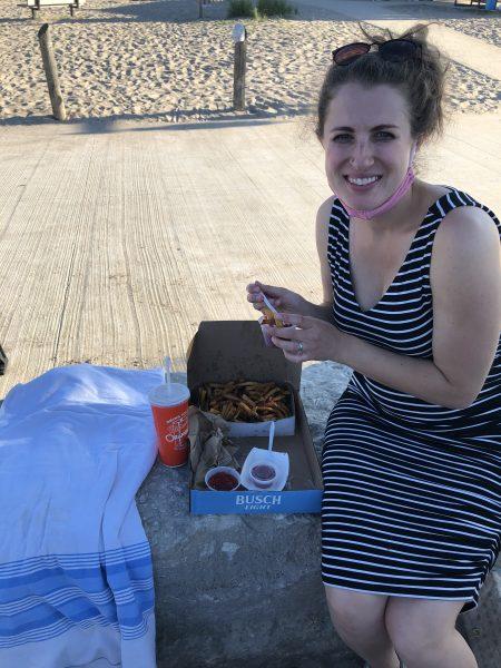 Mackie's Fries in Port Stanley