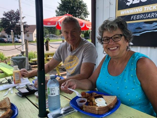 Breakfast at The Galley, Erieau